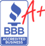 BBB A+ seamless gutters inc. company rating